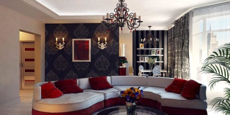 Удачное освещение: гостиная 2016 актуальные тренды и основные правила